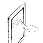picto miroir de Axelle Gay pour l'atelier des 4 coins