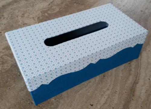 atelier des 4 coins - boite à mouchoirs tissu