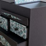 cartonnage boite à couture - création atelier des 4 coins