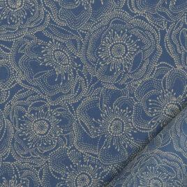 Anémones bleuet/crème – 50 x 70 cm – 100 g