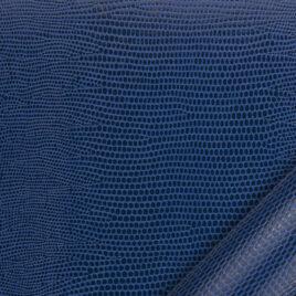 papier cuir lézard bleu 68,5 x 100 cm – 188 g