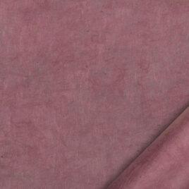 papier indien fait main à partir de la pulpe de coton recyclé issue de l'induxtrie textile. couleur vieux rose