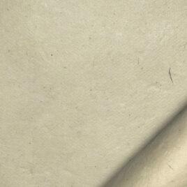 papier indien fait main à partir de la pulpe de coton recyclé issue de l'induxtrie textile. Couleur naturel
