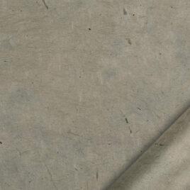 papier indien fait main à partir de la pulpe de coton recyclé issue de l'induxtrie textile. Couleur taupe