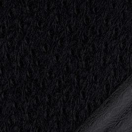 apier simili cuir d'autruche noir